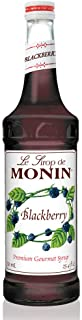 Monin - Blackberry Syrup, Soft and Succulent, Great for Cocktails, Lemonades, and Sodas, Gluten-Free, Vegan, Non-GMO (750 ...