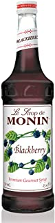 Monin - Blackberry Syrup, Soft and Succulent, Great for Cocktails, Lemonades, and Sodas, Gluten-Free, Vegan, Non-GMO (750 Milliliters)