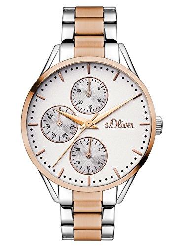 s.Oliver Time Damen-Armbanduhr SO-3350-MM