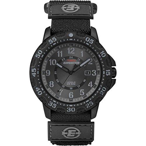 Expedition T49997 - Reloj de Pulsera para Hombres, Correa de Tela, Color Negro