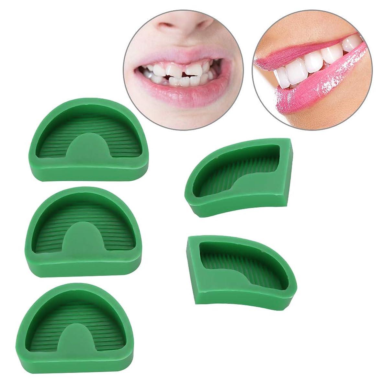 ジャーナリスト守銭奴相対サイズ5本 シリコーンゴム石膏模型 ベース金型 歯科モデル 金型 舌歯科用具