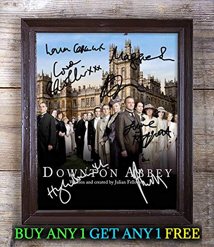 Downton Abbey TV Show Cast Autographed Signed 8x10 Photo Reprint #70 Special Unique Gifts Ideas for Him Her Best Friends Birthday Christmas Xmas Valentines Anniversary Fathers Mothers Day