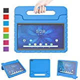 LTROP Onn 10.1-Inch Tablet Case, Onn 10.1 Tablet Case, Light Weight Shockproof Convertible Handle Stand Child-Proof Kids Case for Walmart Onn 10.1 Android Tablet (Model: ONA19TB003) - Blue