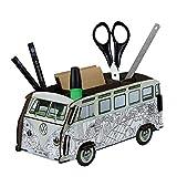 STIFTEBOX VW-Bus von Werkhaus Ausmal-Bulli Büro Schreibtisch Utensilio Box 2091