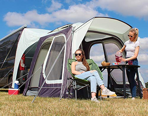 Outdoor Revolution Movelite T1 Tail Low-Midline Driveaway Air Awning