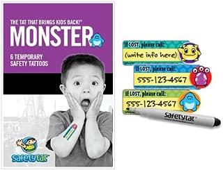 Quick Stick Write-on! Child ID Tattoos (Monster 6pk.)