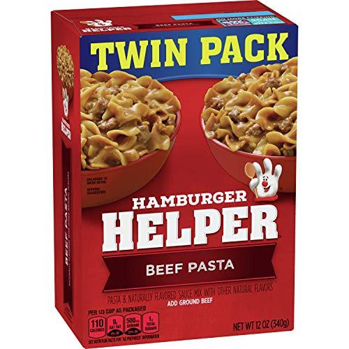 Hamburger Helper Beef Pasta Twin Pack 12 Oz Box