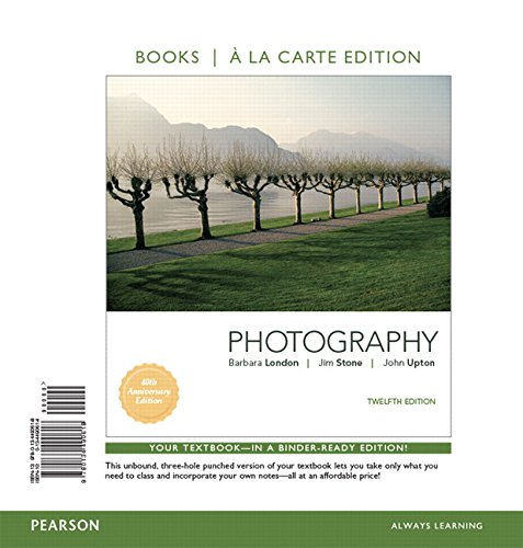 Photography, Books a la Carte Edition