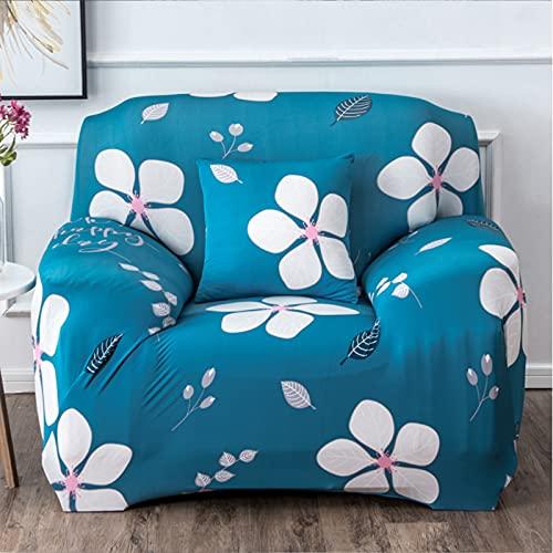 Funda de sofá elástica Fundas de sofá impresas Fundas de sofá para 1-3 sofás Cojines Protector universal elástico para muebles con 1 funda de almohada gratis,Small