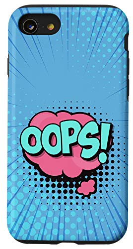 iPhone SE (2020) / 7 / 8 Oops Comic Book Style, Comic Lover Case