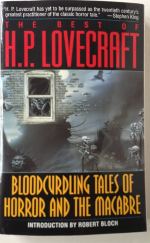 The Best of H.P. Lovecraft : Bloodcurdling Tale... 0345294688 Book Cover