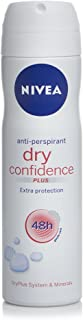 Nivea Dry Confidence Plus 48H Anti perspirant Extra Protection 150mL with Ayur Freebie in combo