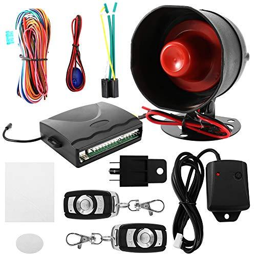 Alarma de coche-12V Sistema de alarma de coche universal Botón de arranque del motor Bloqueo de parada Protección antirrobo