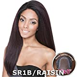 ISIS Human Hair Blend Lace Front Wig Brown Sugar Seamless Lace BS504 Florence (SMP1B/TEAL)