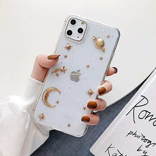 Hülle Cover Hülle iPhone 11 Silikon Transparent Schutzhülle Ultra Dünn Flexibel Weich TPU Crystal Clear Handytasche für iPhone 11