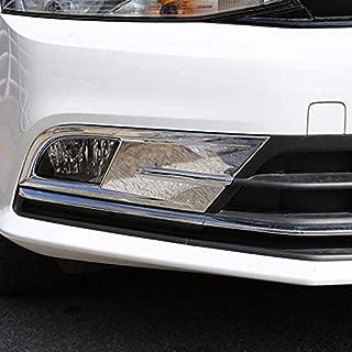 ABS Chrome Front Fog lamps cover Trim Fog lamp shade Trim For Volkswagen VW JETTA MK6 SAGITAR