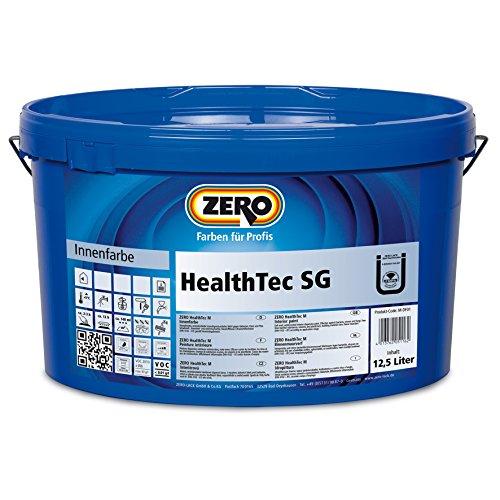 ZERO HealthTec SG Innenfarbe weiß Wandfarbe Seidengalnz antimikrobiell 12,5 L