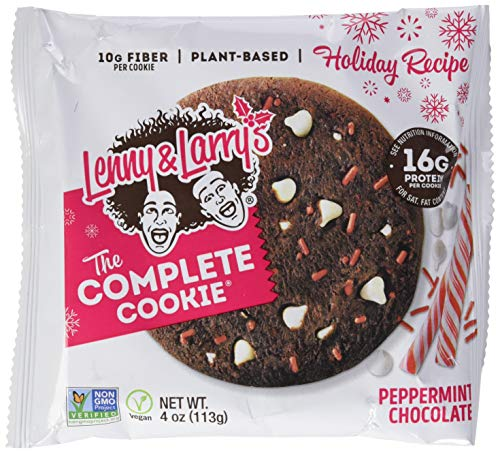 Lenny And Larry's Complete Cookie 12 Pack Peppermint Chocolate, 700 g