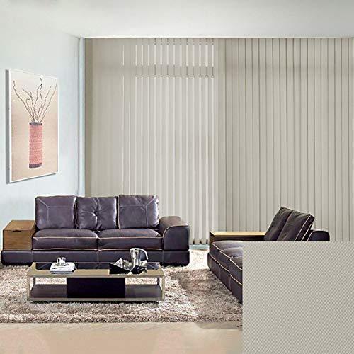 Lhh Persiana de Aluminio Dormitorios/Sala de Estar/Baño/Oficina Persianas Verticales, Persianas Enrollables de Tela Impermeable, Protección UV, Fácil de Instalar (Size : W100xH220cm)