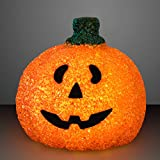 FlashingBlinkyLights Light Up Happy Jack O Lantern Pumpkin Decoration