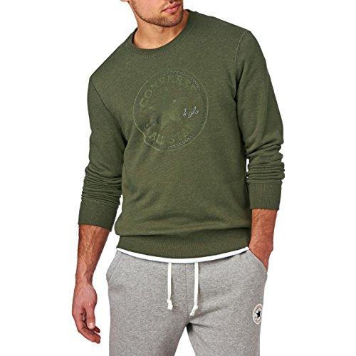 Converse Clothing 14672C Mens Khaki Jumper UKs Latest Fashion différentes tailles