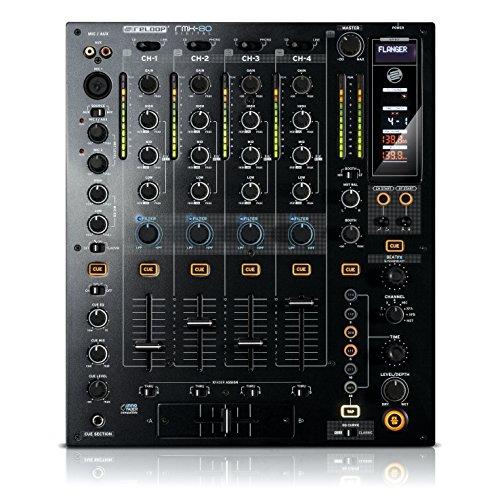 Reloop RMX-80 Digital - 4+1 Kanal DJ Clubmixer schwarz