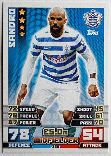 MATCH ATTAX 2014/2015 > QUEENS PARK RANGERS SANDRO > Number 226