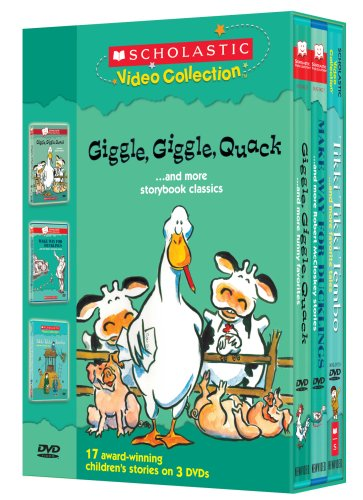 Scholastic Video Collection 3-Pack #5 - Giggle, Giggle, Quack / Make Way for Ducklings / Tikki Tikki Tembo