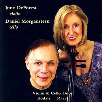 Kodaly & Ravel Violin & Cello Duos