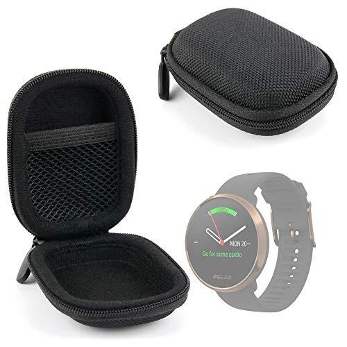 DURAGADGET Funda Negra Compatible con Smartwatch Suunto 9 Baro, Polar Ignite, Montblanc Summit 2