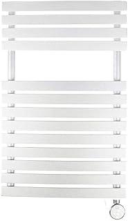 farho Radiador TOALLERO Electrico Bajo Consumo Nova Deco Litle Blanco ·· 400 Watios · Toalleros Eléctricos con Termostato Digital Programable 24/7 (Medidas 788 x 500mm) · Lamas Planas y Curvas