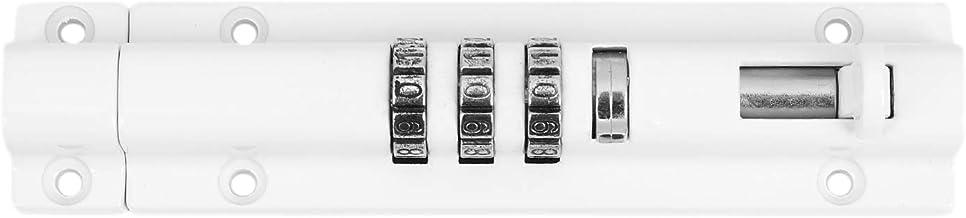 Kuinayouyi cijferslot, schuifdeurslot, horizontaal, kan opnieuw worden geïnitialiseerd, voor garagedeur