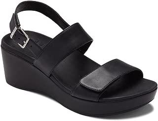 Vionic Women's Atlantic Lovell Toe-Post Platfom Wedge Sandal