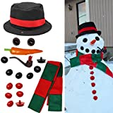 JOYIN Snowman Kit Build Your Own Snowman Kids First Snowman Decorating Kit