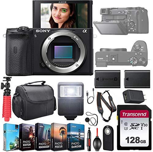 Sony Alpha a6600 Mirrorless Camera (ILCE6600/B)...