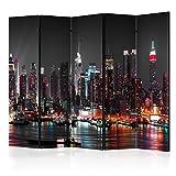 murando Biombo XXL Nueva York 225x172 cm de Impresion Bilateral en el...