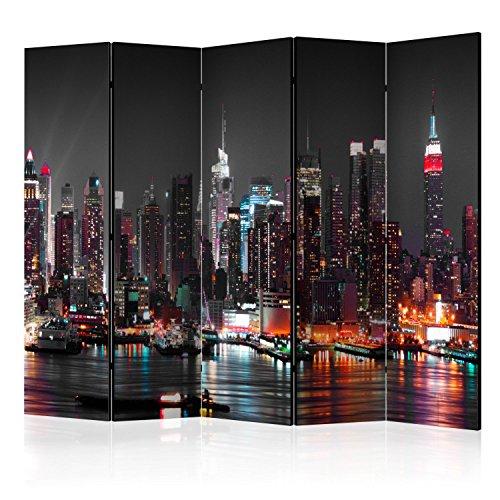 murando Biombo XXL Nueva York 225x172 cm de Impresion Bilateral en el