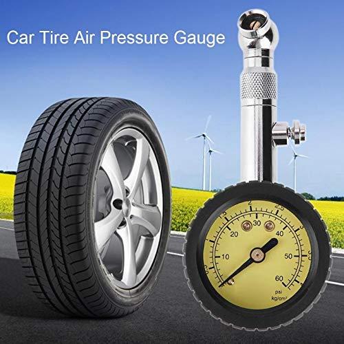 0-60psi Genaue Auto Auto Reifen Luftdruckmessgeräte Präzisionszähler Meter Analog Druckmessgeräte