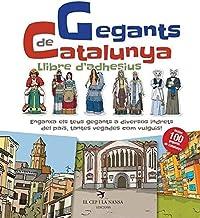 Gegants de Catalunya. Llibre d'adhesius: 1 (Llibres d'adhesius de les Figures de Festa)