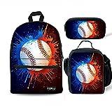 Best Baseball Backpacks - FOR U DESIGNS School Backpack for Boys Baseball Review
