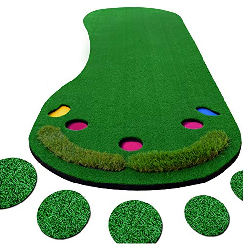 Amazing Deal Durable Indoor and Outdoor Sports Golf Putting Practice Mini-Foot Artificial Putting Gr...