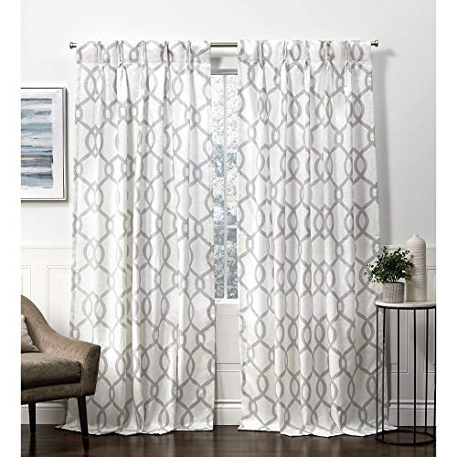 cortina con trabillas fabricante Exclusive Home Curtains