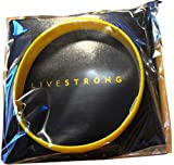 Official Live Strong Lance Armstrong Yellow Cancer Livestrong Rubber Wristband Bracelet Adult Size