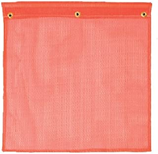 Safety Flag SFKVD18 18-Inch Mesh Safety Flags, Red/Orange