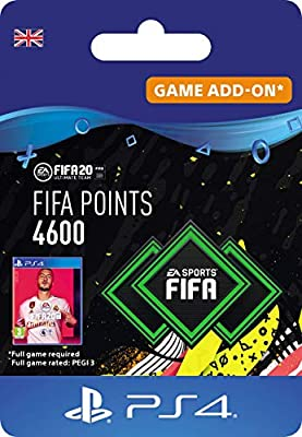 FIFA 20 Ultimate Team - 4600 FIFA Points DLC - PS4 Download Code - UK Account