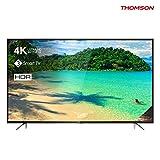 4K UHD HDR Smart TV mit 164 cm (65 Zoll) Bildschirmdiagonale, 10bit-Panel 4K Ultra HD Auflösung (3840x2160 Pixel), UHD Upscaling, 1200 PPI, HDR (HDR10, ST-2084), HLG Triple-Tuner (analog, DVB-T2 HD (Terrestrisch), DVB-C (Kabel), DVB-S2 (Satellit), CI...