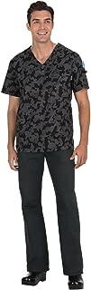 Coby V-Neck Men's Scrub Top with 6 Pockets