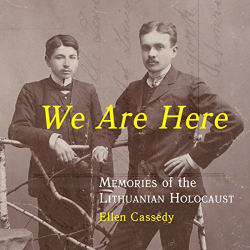 We Are Here audiobook cover art