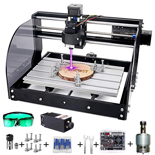 MYSWEETY DIY CNC 3018PRO-M 3 Axis CNC Router Kit with