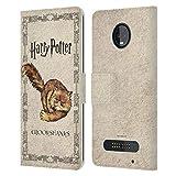 Head Case Designs Officiel Harry Potter Crookshanks Chat Prisoner of Azkaban III Coque en Cuir à...
